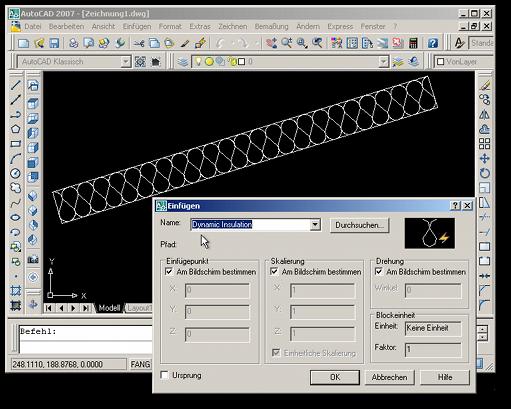 Dämmung mit AutoCAD zeichnen - Forum Bauen und Umwelt