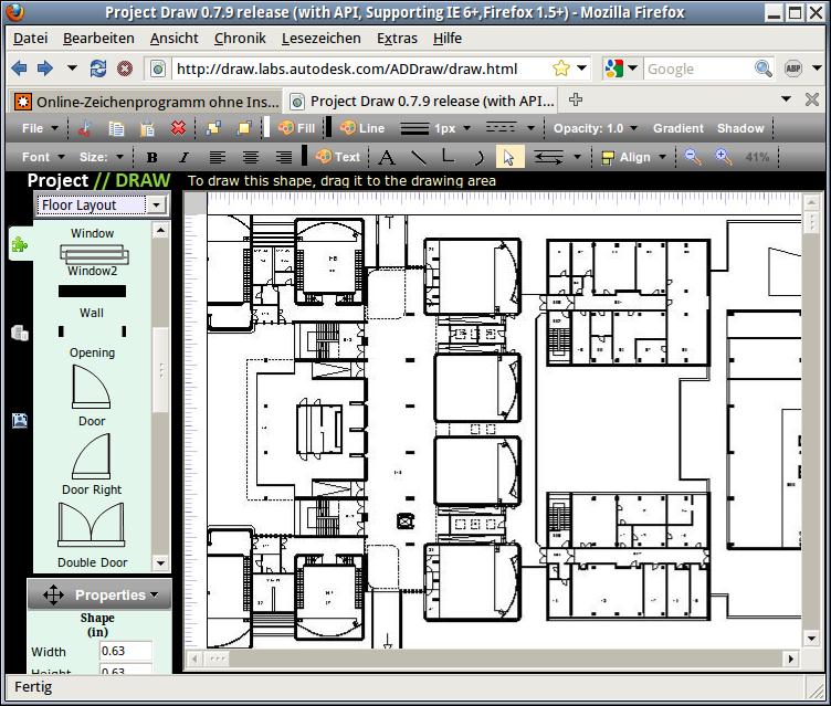 Online-Zeichenprogramm ohne Installation: ADDraw von Autodesk ...