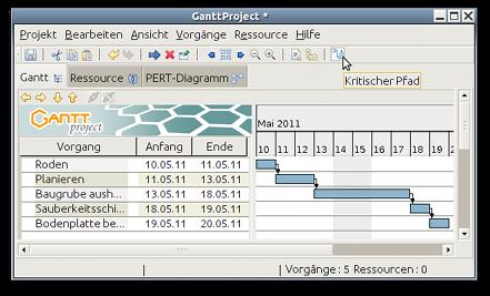 Balkenplan (Gantt-Diagramm) ohne Microsoft Project: kostenloser ...