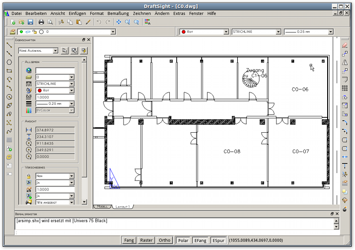 draftsight ein flottes autocad kompatibles dwg zeichenprogramm f r windows mac und linux. Black Bedroom Furniture Sets. Home Design Ideas